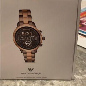 Michael Kors 2 tone watch
